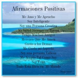decretos y afirmaciones positivas