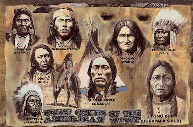 Grandes Jefes Indios de Norteamerica
